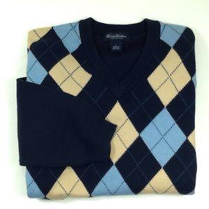 Brooks Brothers men's argyle sweater
